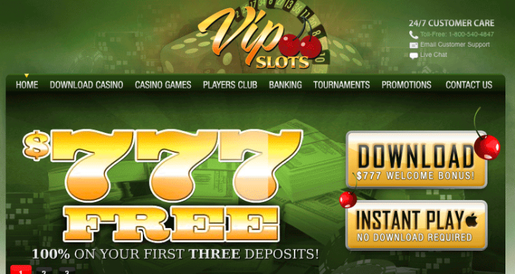 VIP Slots Casino Review & Bonuses