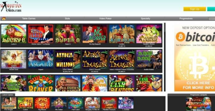 Manhattan Slots Review & Bonuses