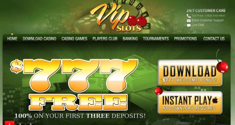 VIP Slots Casino Review & Bonuses